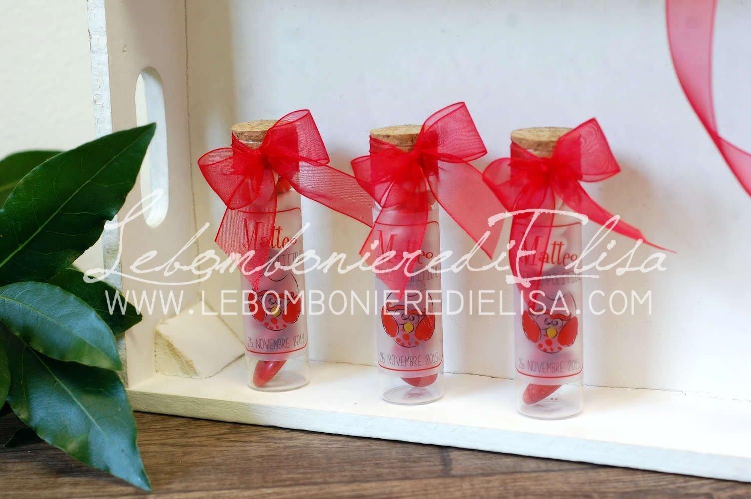 Amato Bomboniere laurea originali provetta vetro piccola GQ34