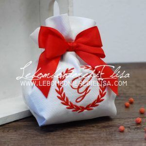 sacchetto porta confetti laurea